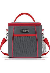 Bolsa Térmica Com Alça Jacki Design Ahl16018 Vermelha