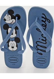 Chinelo Masculino Estampa Mickey Top Havaianas