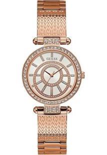 Relógio Guess Ip Rose Analógico 92666Lpgdra3 Feminino - Feminino-Rose Gold