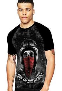 Camiseta Stompy Raglan Modelo 124 Masculina - Masculino