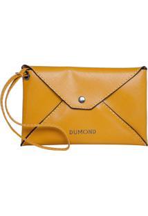 Carteira Dumond Envelope Amarela