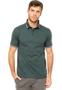 Camisa Polo Timberland Slim Verde