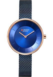 Relógio Curren Analógico C9030L - Azul