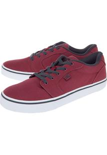Tênis Dc Shoes Tenianvil Tx M Bordô