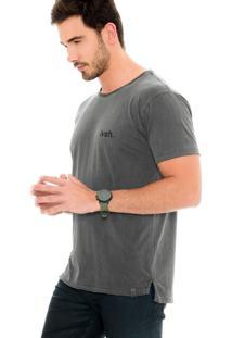 Camiseta Lavish Lvsh. Urso Cinza