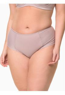 Calcinha Lateral Dupla Plus Size - Rosa Médio - 1Xl