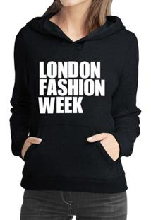 Moletom Criativa Urbana London Fashion Week - Feminino
