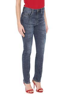 Calça Jeans Carmim Reta Miosotis Azul