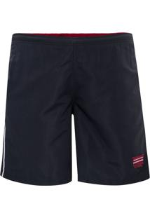 Shorts Plus Size Navy Soft