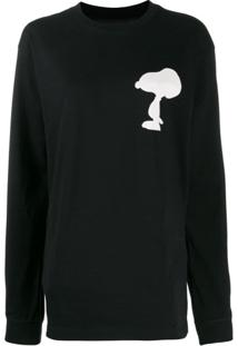 Marc Jacobs Camiseta Com Estampa Snoopy - Preto