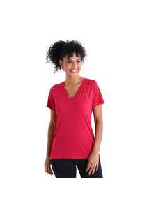 Camiseta Gola V Energy - Rosa - Líquido