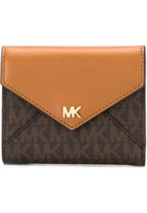 Michael Michael Kors Carteira Envelope - Marrom