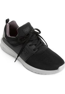 Tênis Dc Shoes Heathrow Masculino - Masculino-Preto+Cinza