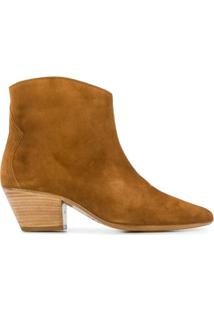 Isabel Marant Ankle Boot 'Dacken' - Marrom
