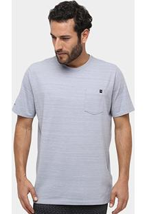 Camiseta Under Armour Charged Ss Pocket Masculina - Masculino