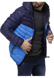Jaqueta Masculina - Masculino-Azul