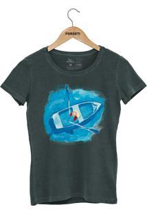 Camiseta Forseti Estonada Navegante Verde - Kanui