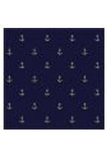Papel De Parede Adesivo Ancora Azul 220535290 Rolo 0,58X3M