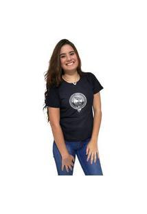 Camiseta Feminina Cellos Boom Box Premium Preto