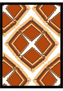 Quadro Com Moldura Diferenças Colorido (33X24)