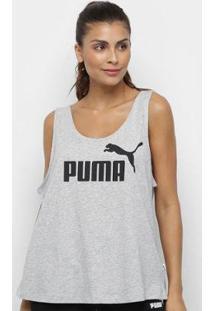 Regata Puma Ess Logo Tank Feminina - Feminino