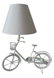 Abajur Urban Bike – Branco