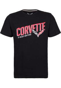 Camiseta Masculina Stripes Corvette Incolor