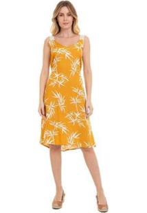 Vestido Grupo Avenida Floral Feminino - Feminino