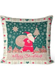Capa De Almofada Love Decor Avulsa Decorativa Merry Christmas - Off-White - Dafiti