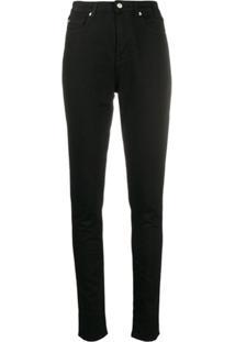 Ps Paul Smith Calça Jeans Skinny - Preto
