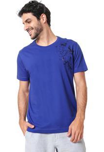 Camiseta Aramis Flor Azul