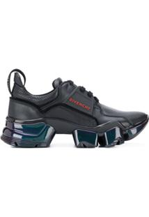 Givenchy Jaw Iridescent Low Top Sneakers - Preto