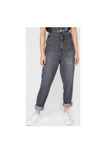 Calça Jeans Colcci Skinny Com Cinto Preta