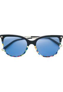 d0443a2a3074c R  1973,00. Farfetch Dolce   Gabbana Eyewear Óculos De Sol  Lucia  - Preto