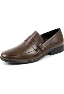 Sapato Grf Marrom Claro