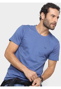 Camiseta All Free Básica Masculina - Masculino-Azul