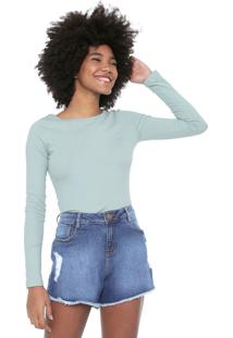 Blusa Billabong Confort Verde