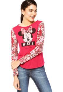 Blusa Cativa Minnie feminina  a32d4f901d6