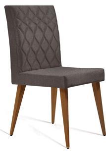 Cadeira Julia T1062-Daf Mobiliário - Marrom