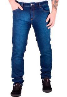 Calça Prime Jeans Travel Masculina - Masculino-Azul Escuro