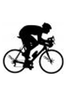 Adesivo De Parede - Ciclista - 010Es-M