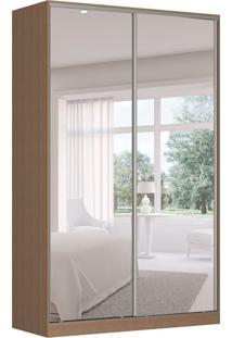 Guarda-Roupa Solteiro Com Espelho Tunas Vi 2 Pt 3 Gv Marrom