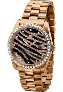 Relógio Ana Hickmann - Feminino-Dourado
