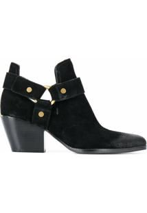 Michael Michael Kors Ankle Boot Pamela - Preto