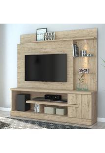 Estante Para Tv 1 Porta Alan 641022 Rustico - Madetec