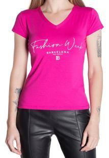 Blusa Feminina Infinitto Lady Pink - M