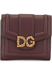 Dolce & Gabbana Carteira French - Marrom