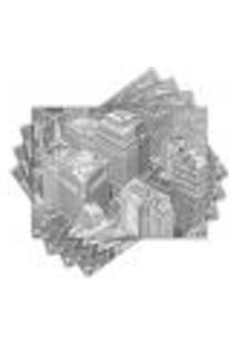 Jogo Americano - Manhattan Com 4 Peças - 346Jo