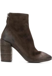 Marsèll Ankle Boot Com Salto Alto - Marrom