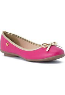 Sapatilha Lisa Com Laã§O- Pink & Douradacarmen Steffens